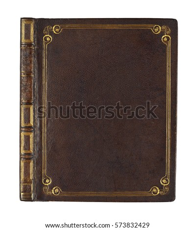old book vintage book cover Royalty-Free Stock Photo #573832429