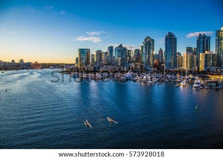 Vancouver City - Kayaking - BC - Canada #573928018