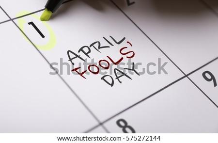 April Fools' Day Royalty-Free Stock Photo #575272144