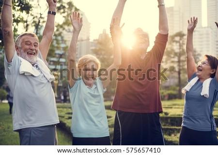 Senior Adult Exercise Fitness Strength #575657410