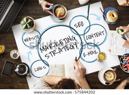 Business Solution Marketing Digital Planning Royalty-Free Stock Photo #575844202