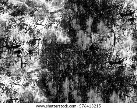 Black and white grunge texture #576413215