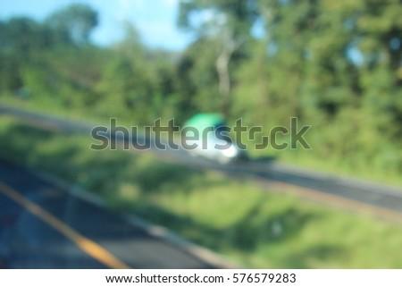 Cars on street #576579283