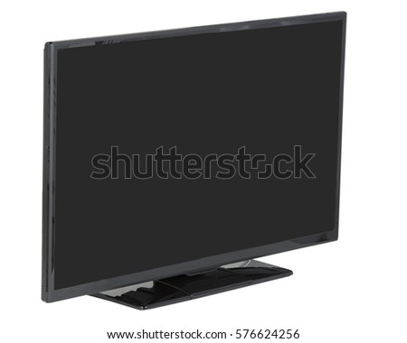TV isolated #576624256