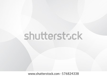 White and Grey abstract modern transparency circle presentation background