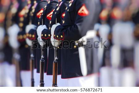 United States Marine Corps Royalty-Free Stock Photo #576872671