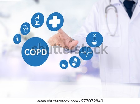 COPD     Chronic obstructive pulmonary disease #577072849