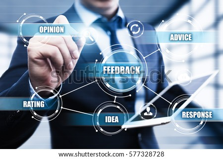 Feedback Business Quality Opinion Service Communication concept #577328728