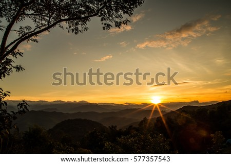 Sunrise Royalty-Free Stock Photo #577357543
