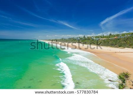 Beach Australia Sunshine Coast #577830784