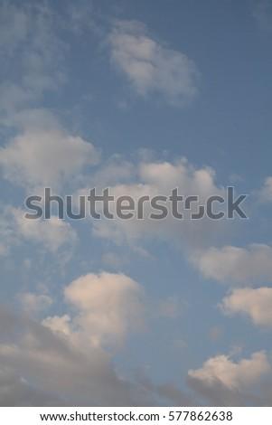 cloud on blue sky #577862638