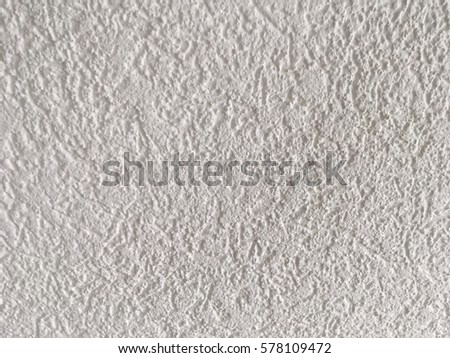 Seamless white concrete wall texture, cement background, wallpaper #578109472