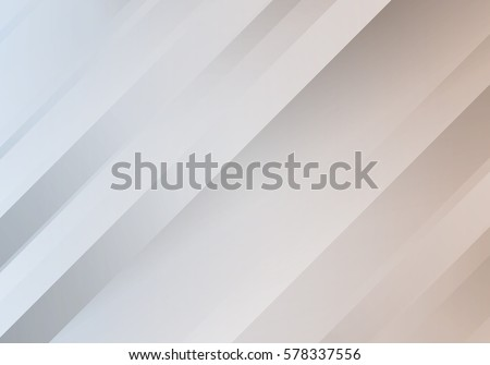 Abstract White Background with Stripes. Vector Minimal Banner. Pearl Colored Sleek Texture.