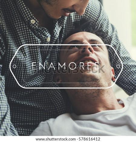 LGBT Enamored Amorous Love Intimate #578616412