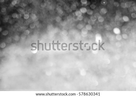 Snowfall isolated on black background . Design element. #578630341