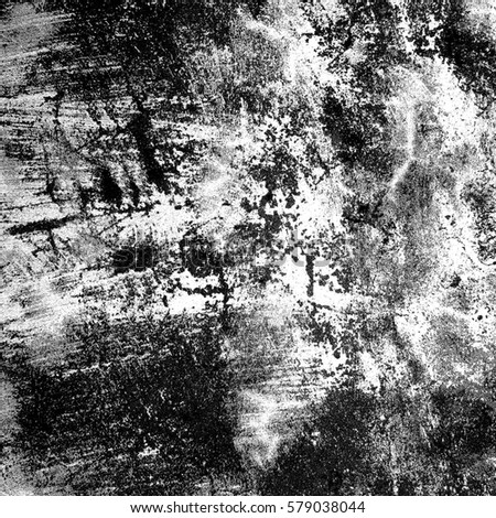 Black and white grunge texture #579038044