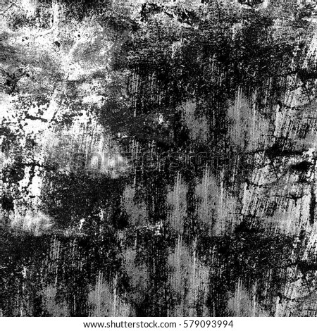 Black and white grunge texture #579093994