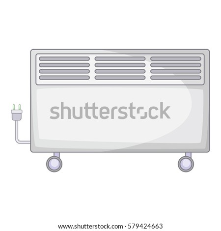 Home heater icon. Cartoon illustration of home heater  icon for web #579424663