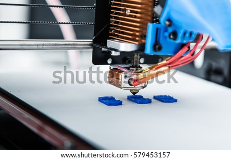 3d printer mechanism working yelement design of the device during the processes.