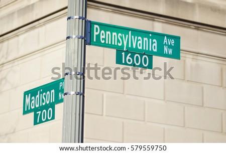 1600 Pennsylvania Avenue. The White House Address