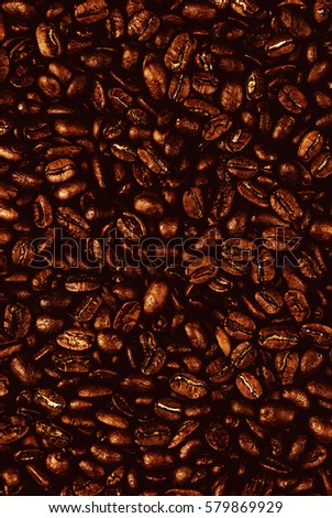 roasted coffee beans background #579869929