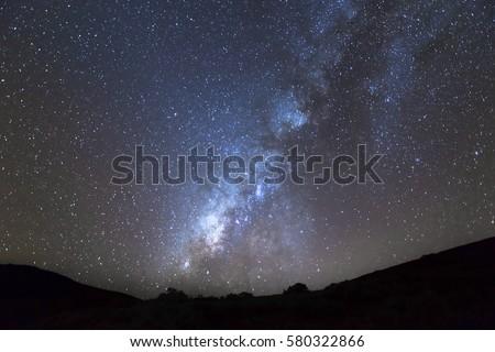 Hawaii Milky Way