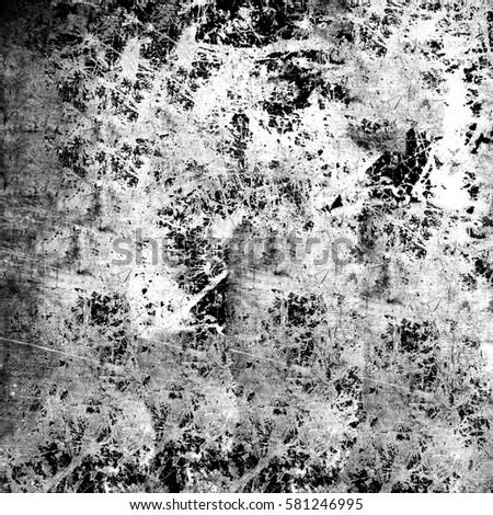 Black and white grunge texture #581246995