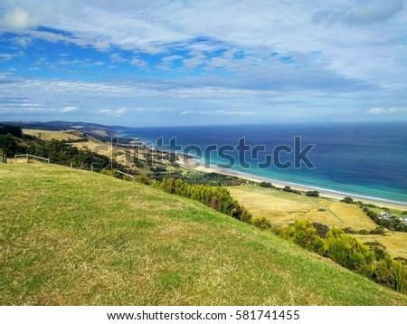 Ocean Beach View Terrain Nature Holiday #581741455