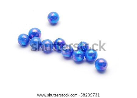 blue marbles #58205731