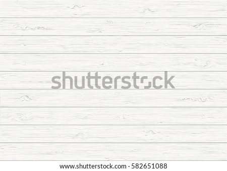 White wood plank texture vector background Royalty-Free Stock Photo #582651088