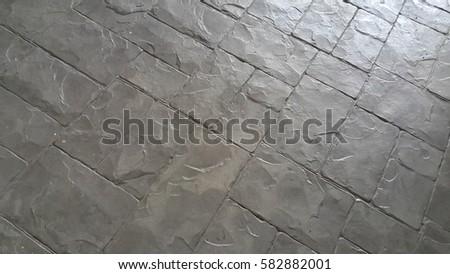 black cement floor,texture #582882001