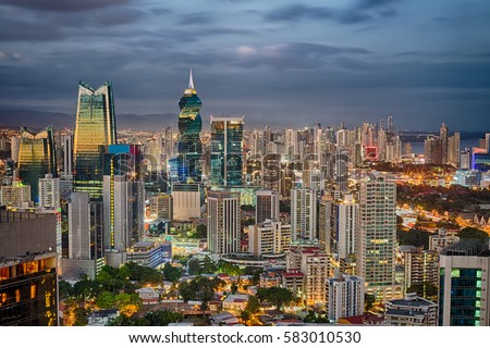 Financial center of Panama City, Panama #583010530