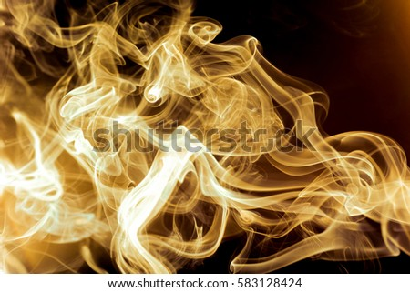 Abstract background of smoke warm gold tones #583128424