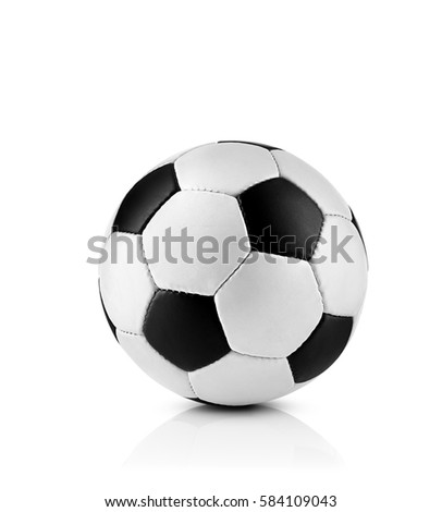 Soccer ball, isolated on white #584109043