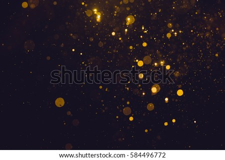 Gold abstract bokeh background #584496772