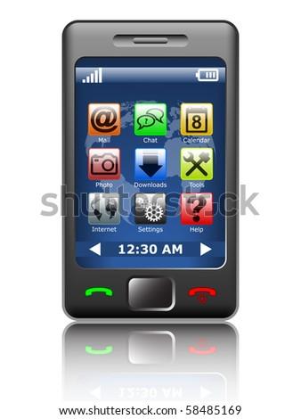 Modern smartphone #58485169
