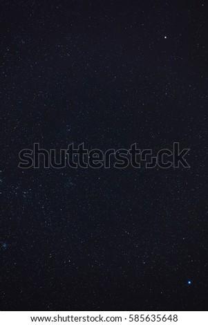 Milky way stars on a dark sky. My astronomy work. #585635648
