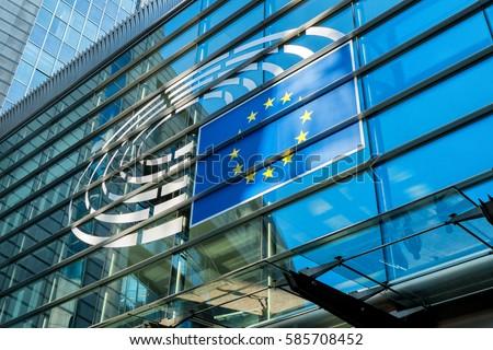 Building of European Union #585708452