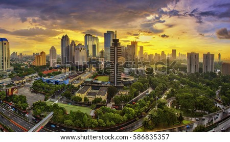 Jakarta officially the Special Capital Region of Jakarta, is the capital of Indonesia. Jakarta is the center of economics, culture and politics of Indonesia #586835357