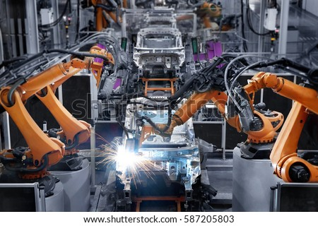 Car manufacturer Royalty-Free Stock Photo #587205803