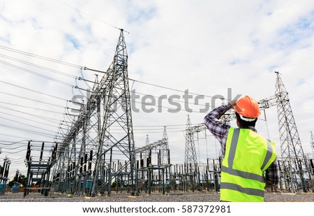Engineers electrical power plants #587372981