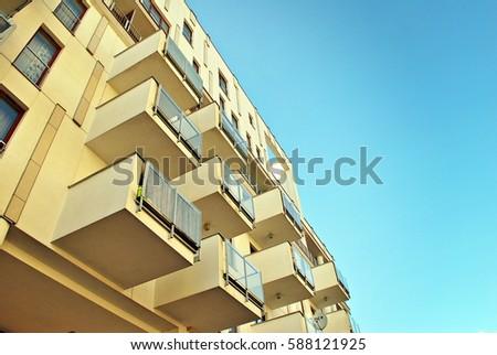 Modern, Luxury Apartment Building #588121925