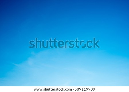Blue Sky background #589119989