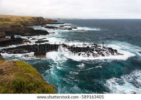 Stormy Coastline #589163405