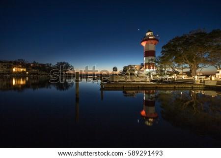 Light House at Hilton Head Island #589291493