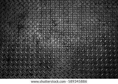 Seamless metal texture, Table of steel sheet for background. black texture for design backdrop or add text message. industry stainless