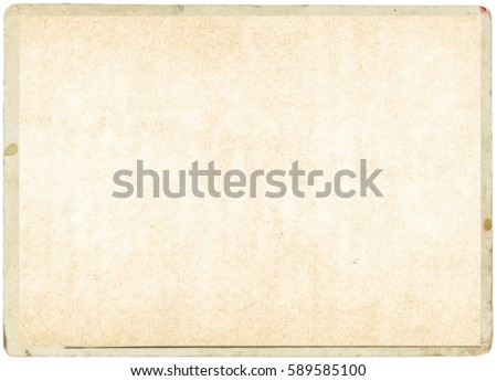 brown empty old vintage paper background. Paper texture #589585100