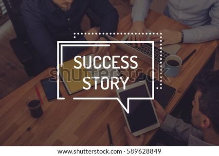 SUCCESS STORY CONCEPT #589628849