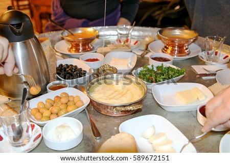 Turkish Breakfast #589672151