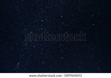 Night stars sky - background, high resolution picture, large size
